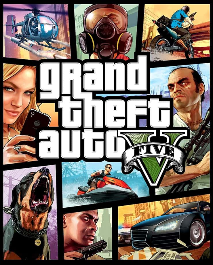Игра Grand Theft Auto V (GTA 5)